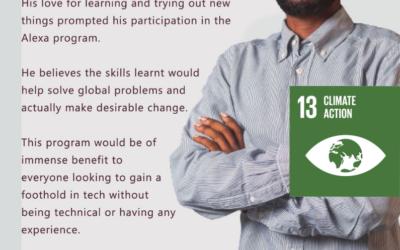How Alexa Can Help Combat Climate Change SDG 13